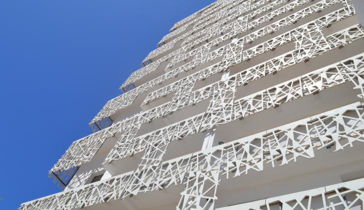 Building in Casablanca Finance City.